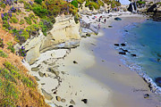 La Jolla Art Prints - The Perfect Beach La Jolla Print by Russ Harris
