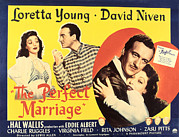 Loretta Posters - The Perfect Marriage, Loretta Young Poster by Everett