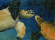 Scuba Paintings - The Perfect Match by Sandra Camper