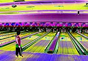 Bowling Digital Art - The Perfect Split by Peter  McIntosh