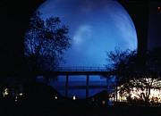 Expositions Framed Prints - The Perisphere at Night Framed Print by David Halperin