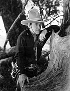Candid Portraits Prints - The Phantom Rider, Buck Jones Print by Everett