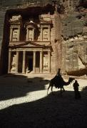 Petra - Jordan Prints - The Pharaohs Treasury Or Khazneh Print by James L. Stanfield