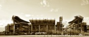 Stadium Digital Art - The Philadelphia Eagles - Lincoln Financial Field by Bill Cannon
