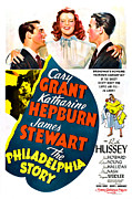 Cary Posters - The Philadelphia Story, Cary Grant Poster by Everett