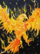 Joseph Palotas Paintings - The Phoenix  by Joseph Palotas