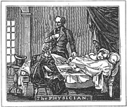 1835 Posters - The Physician, 1835 Poster by Granger