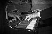 Jazz Pianist Photos - The Pianist by Paul Huchton