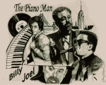 Pen And Ink Drawings - The Piano Man by Jason Kasper