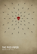 Fairy Tale Posters - The Pied Piper Poster by Christian Jackson