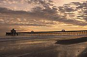 Bonnes Eyes Fine Art Photography Prints - The Pier Print by Bonnes Eyes Fine Art Photography