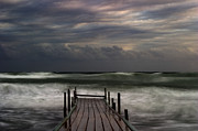 Atlantic Metal Prints - The Pier...ayia Napa Metal Print by Stylianos Kleanthous