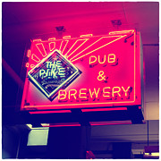 Restaurant Sign Prints - The Pike Pub Print by Tanya Harrison