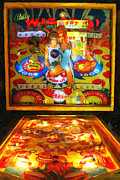 Vintage Video Game Framed Prints - The Pinball Wizard Framed Print by Wingsdomain Art and Photography