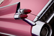 Pink Cadillac Prints - The Pink Cadillac Print by David Patterson