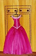The Pink Dress 4535 Print by Jessie Meier