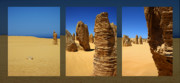 Dessert Pyrography - The Pinnacles Dessert - Australia by Kelly Jones