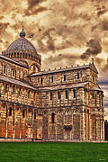 Duomo Cathedral Digital Art Prints - The Pisa Cathedral Print by Tom Prendergast