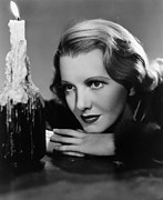 Contemplative Metal Prints - The Plainsman, Jean Arthur, 1936 Metal Print by Everett
