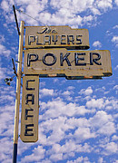 Players Digital Art Framed Prints - The Players Poker Cafe Framed Print by Ron Regalado