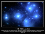 5 Star Metal Prints - The Pleiades Metal Print by Our Creator