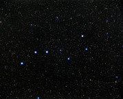 Ursa Major Posters - The Plough Asterism In Ursa Major Poster by Eckhard Slawik