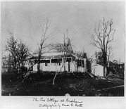 Edgar Allan Poe Photos - The Poe Cottage At Fordham, The Home by Everett