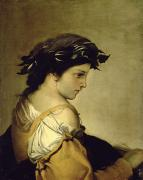 Poem Paintings - The Poem by Salvator Rosa