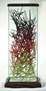 Color Sculpture Originals - The Point Is Transition by Lonnie Tapia