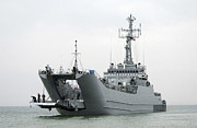 Us Open Art - The Polish Lublin-class Minelayer Orp by Stocktrek Images