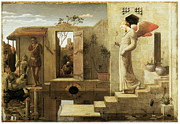 Angel Art Paintings - The Pool of Bethesda by Robert Bateman