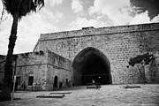 Ammochostos Prints - The Porta Di Limisso The Old Land Gate In The Old City Walls Famagusta Turkish Cyprus Print by Joe Fox