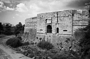 Cumhuriyeti Prints - The Porta Di Limisso The Old Land Gate In The Old City Walls Famagusta Turkish Republic Cyprus Print by Joe Fox