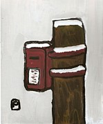 Postal Originals - The postbox by Peter  McPartlin