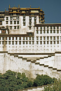 Tibet Prints - The Potala, Former Abode Of The Exiled Print by Gordon Wiltsie