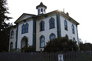 Horror Movie Photos - The Potter School House . Bodega Bay . Town of Bodega . California . 7D12477 by Wingsdomain Art and Photography