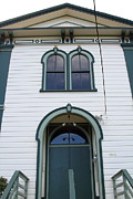 The Potter School House . Bodega Bay . Town Of Bodega . California . 7d12480 Print by Wingsdomain Art and Photography