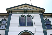Old School House Photo Prints - The Potter School House . Bodega Bay . Town of Bodega . California . 7D12482 Print by Wingsdomain Art and Photography