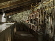 Heligan Photos - The potting shed by Steev Stamford