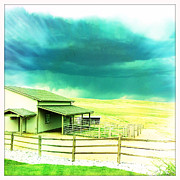 Barn Storm Prints - The Power Of Nature Print by Daphne Sampson