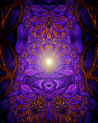 Inner Harmony Prints - The Power Within Print by Mimulux patricia no