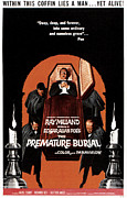 1960s Movies Posters - The Premature Burial, 1962 Poster by Everett