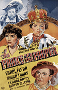 Postv Photo Metal Prints - The Prince And The Pauper, Errol Flynn Metal Print by Everett