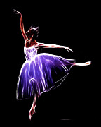 Gracefully Prints - The Princess Dancer Print by Stefan Kuhn