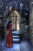 Medieval Entrance Posters - The Prisoner Poster by Jill Battaglia