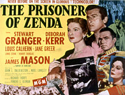 Prisoner Posters - The Prisoner Of Zenda, Deborah Kerr Poster by Everett