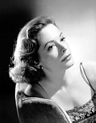 1950s Portraits Photos - The Prisoner Of Zenda, Jane Greer, 1952 by Everett