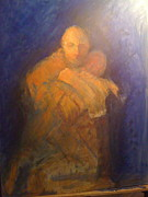 Spirit Pastels Posters - The Prodigal Son Poster by Kathryn Doneghan
