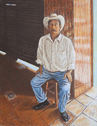 Agriculture Pastels - The Producer by Jim Barber Hove