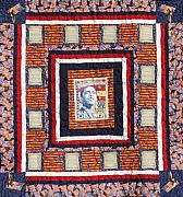 Obama Tapestries - Textiles - The Promise - Quilt SOLD by Tracie L Hawkins